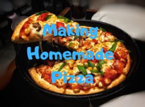 【スイス・チューリッヒ】手作りピザ!小麦粉から作ってみよう
