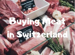 【スイス・チューリッヒ】スーパーにある肉類の値段*ドイツと比較