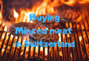 【スイス・チューリッヒ】スーパーで買える挽き肉の値段*ドイツとの比較