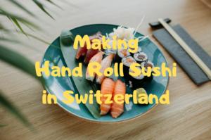 【スイス・チューリッヒ】手巻き寿司♡お酢に海苔の値段*ドイツスーパーと比較