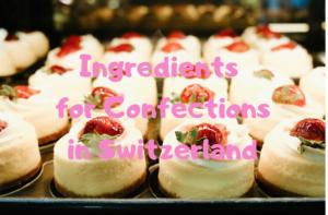【スイス・チューリッヒ】パン&お菓子作りで使う材料の値段*ドイツとも比較