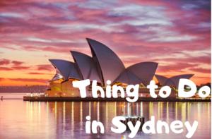 【シドニー・オーストラリア】シドニーのおすすめ観光スポット☆