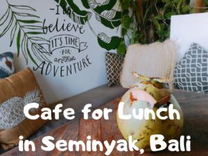 【バリ・インドネシア】スミニャックでおすすめカフェ「Shelter」