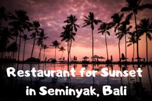 【バリ・インドネシア】スミニャックのおすすめレストラン「La Lucciola」