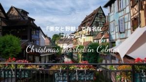 【フランス・コルマール】クリスマスマーケットと街観光
